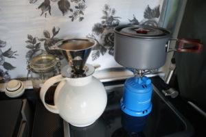 Kartuschenkocher - Campingküche