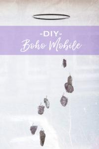 DIY Boho Mobile mit Anleitung zum Selbermachen