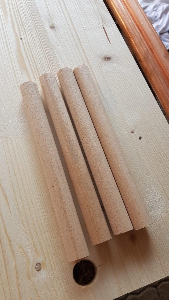 Kleiderständer aus Kupferrohr selber bauen - Unterkonstruktion, Regal, Ständer